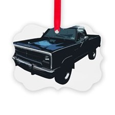 Dodge Power Ram Pickup Truck Picture Ornament