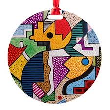Gustavo Round Ornament