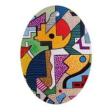 Gustavo Oval Ornament