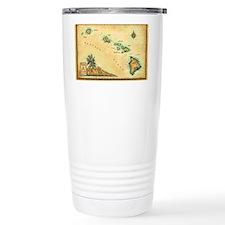 Hawaii map Travel Mug