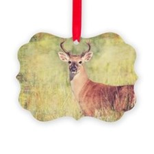 White Tailed Buck Ornament