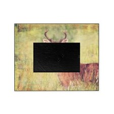 White Tailed Buck Picture Frame