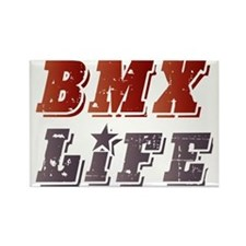 BMX Life Rectangle Magnet