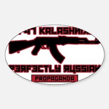 AK-47 Perfectly Russian Propaganda Decal