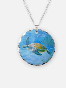 Underwater turtle Necklace