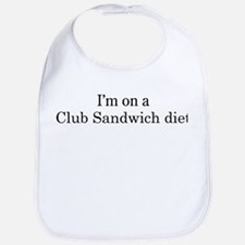 Club Sandwich diet Bib