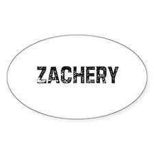 Zachery Oval Decal