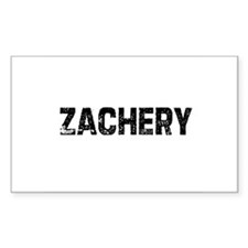 Zachery Rectangle Decal