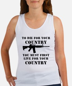 Live for Country Women's Tank Top