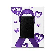 Purple Awareness Ribbon Picture Frame