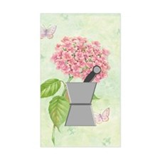 pest and mort hydrangea 2 Decal