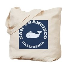 souv-whale-sf-ca-PLLO Tote Bag
