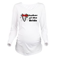 Father Of Bride Long Sleeve Maternity T-Shirt
