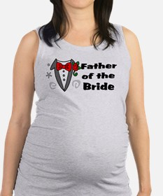 Father Of Bride Maternity Tank Top