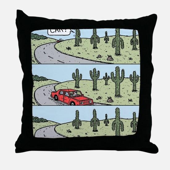 Cacti arms Throw Pillow