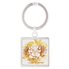 Engaged Detachment Square Keychain