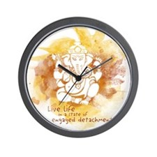 Engaged Detachment Wall Clock