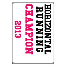 Horizontal Running Champion 2013 (Left) Banner