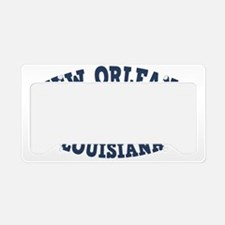 souv-whale-nawlins-CAP License Plate Holder
