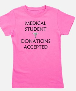 Medical Student Girl's Tee