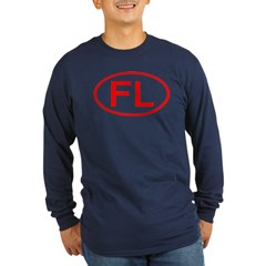FL Oval (Red) T