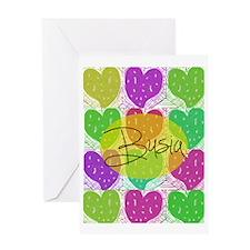 Busia 33 Greeting Card