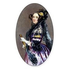 Ada King, Countess of Lovelace Wate Decal