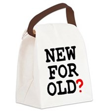 NEW FOR OLD Canvas Lunch Bag