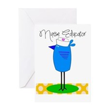 nurse educator 2 Greeting Card
