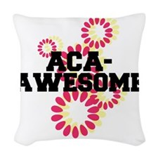 Pitch Perfect Aca Awesome Woven Throw Pillow