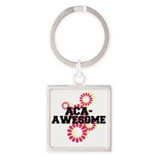 Pitch Perfect Aca Awesome Square Keychain