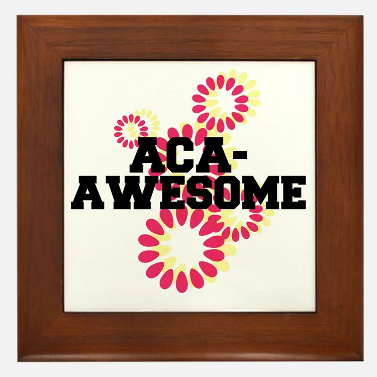 Pitch Perfect Aca Awesome Framed Tile