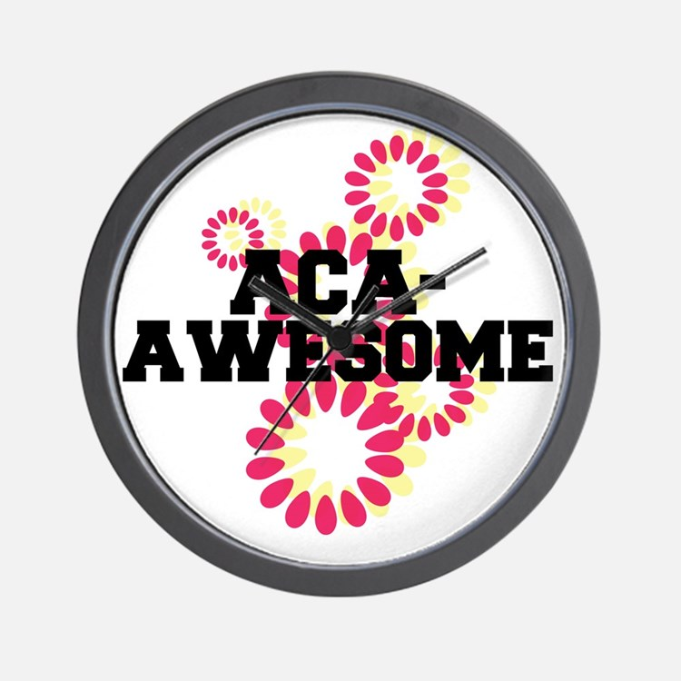 Pitch Perfect Aca Awesome Wall Clock