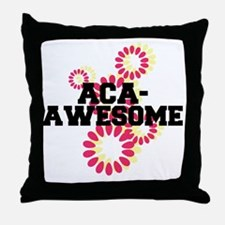 Pitch Perfect Aca Awesome Throw Pillow
