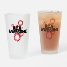 Pitch Perfect Aca Awesome Drinking Glass