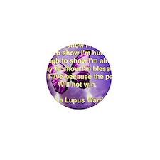 Lupus Warrior Mini Button