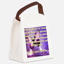 Lupus Warrior Canvas Lunch Bag