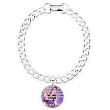 Lupus Warrior Charm Bracelet, One Charm