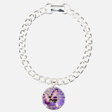 Lupus Warrior Charm Bracelet, One Charm