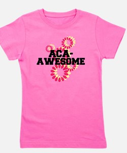 Pitch Perfect Aca Awesome Girl's Tee