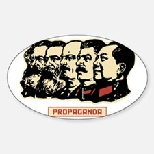 Comunist Leaders vintage Propaganda Decal