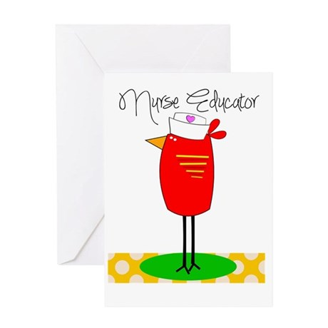 nurse educator 1 Greeting Card
