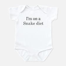 Snake diet Infant Bodysuit