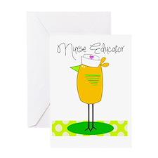 nurse educator Greeting Card