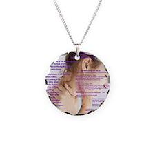 SLE Necklace Circle Charm
