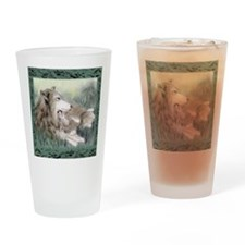 wolfmotherTL Drinking Glass
