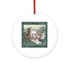 wolfmotherTL Round Ornament