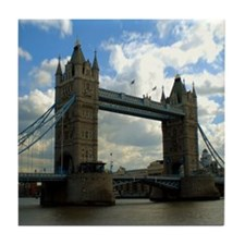 London Bridge Tower Tile Coaster