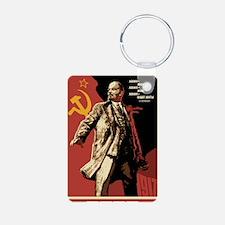 Soviet vintage Propaganda Keychains