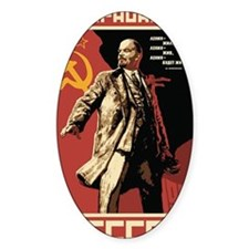 Soviet vintage Propaganda Decal
